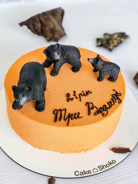 Торт Три медведя - фото