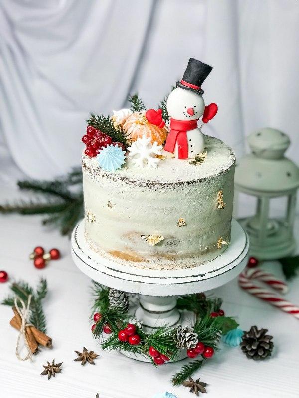 торт новогодний 4 - фото