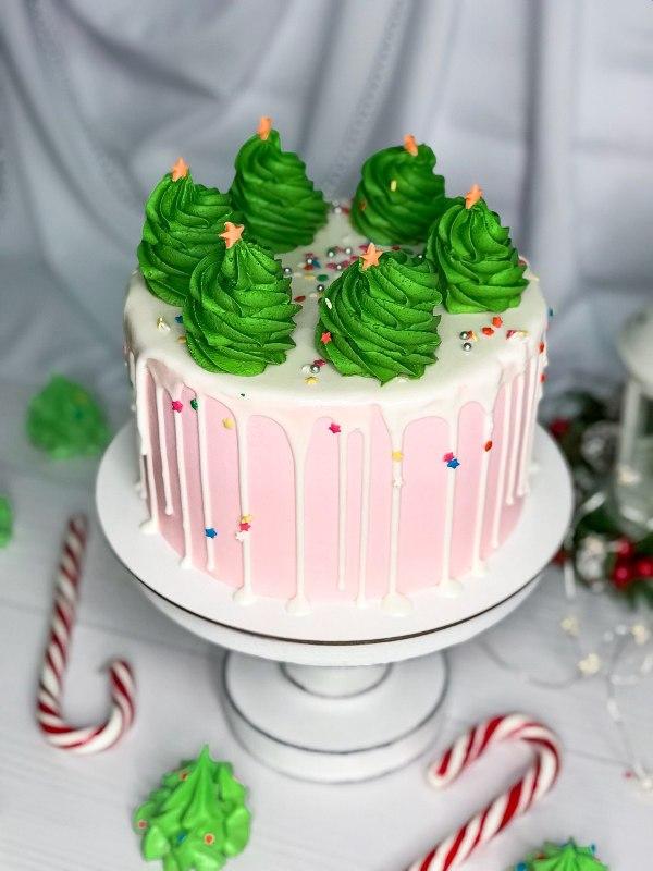 торт новогодний 7 - фото