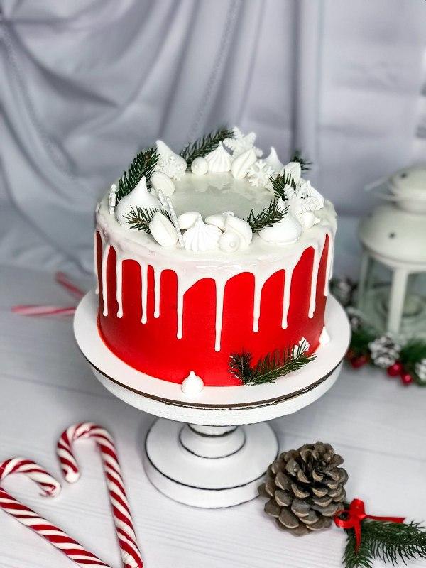 Торт Новогодний - фото