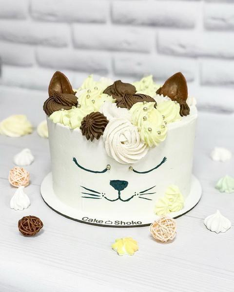 Торт Кошечка - фото