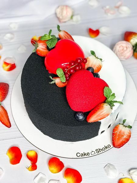 Торт Інь   і ян - фото