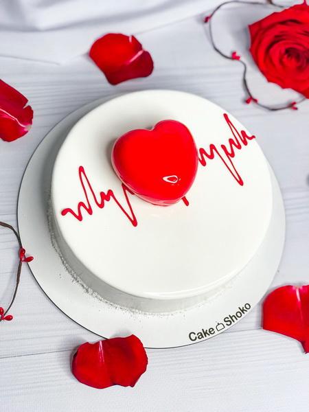 Торт Ритм сердца - фото
