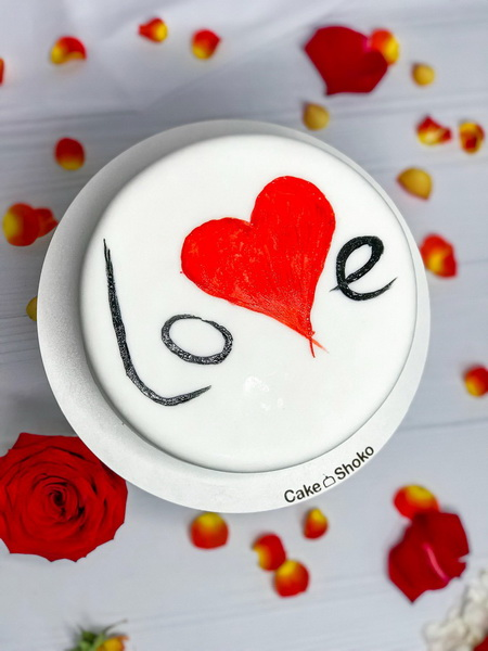 Торт Любов - фото