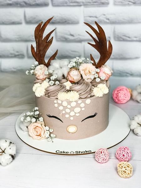 Торт Оленёнок - фото