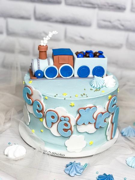 Торт Паровоз - фото