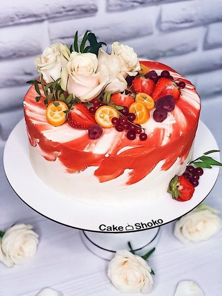 Торт Яскравий 2 - фото