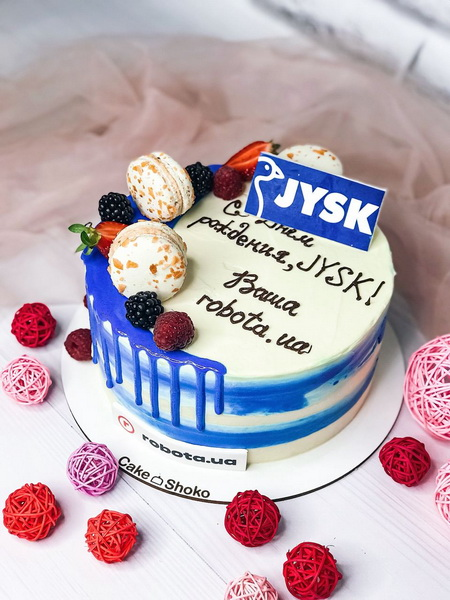 Торт JYSK - фото