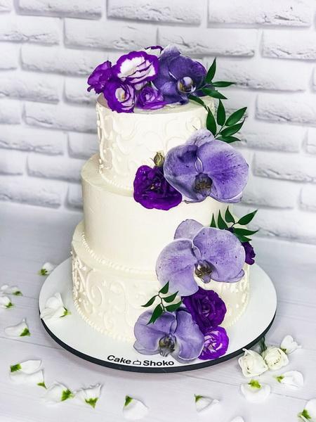Торт Орхідеї - фото