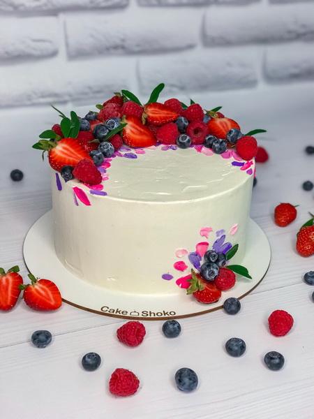 Торт Червона ягода - фото