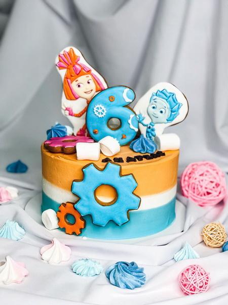 Торт Фіксики - фото