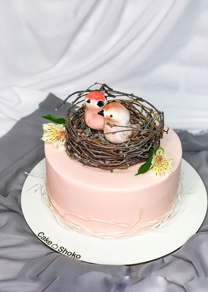 Торт пара - фото