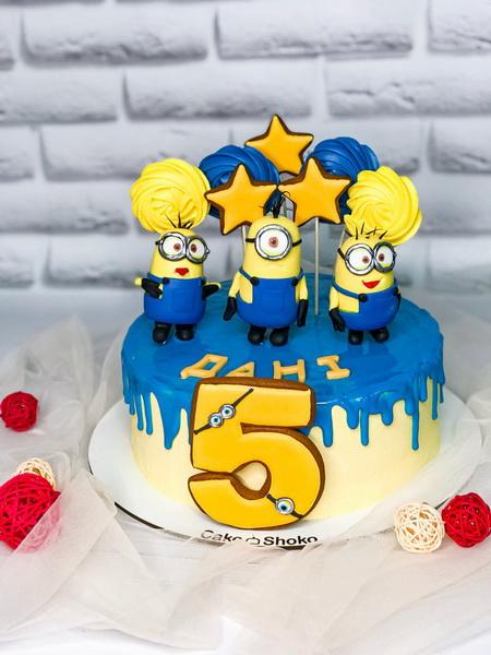 Торт Миньоны 2 - фото