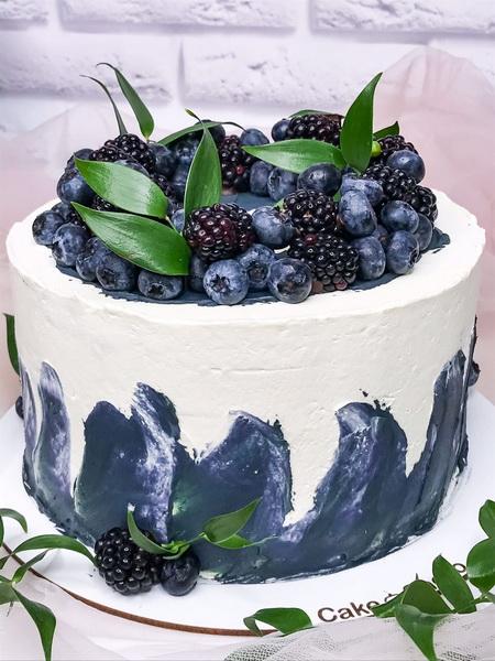 Торт Темні ягоди 2 - фото