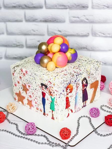 Торт  Принцессы - фото