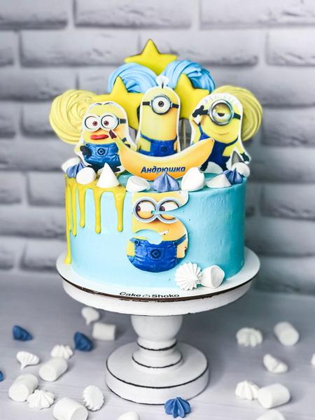 Торт Миньйоны - фото