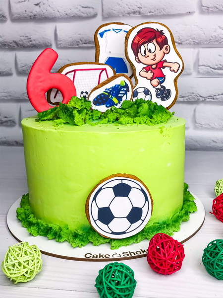 Торт Футболіст - фото