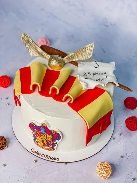 торт Гаррі Поттер 4 - фото