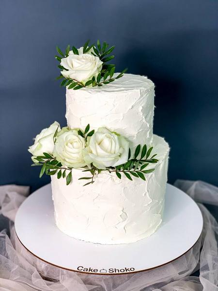 Торт Троянди - фото