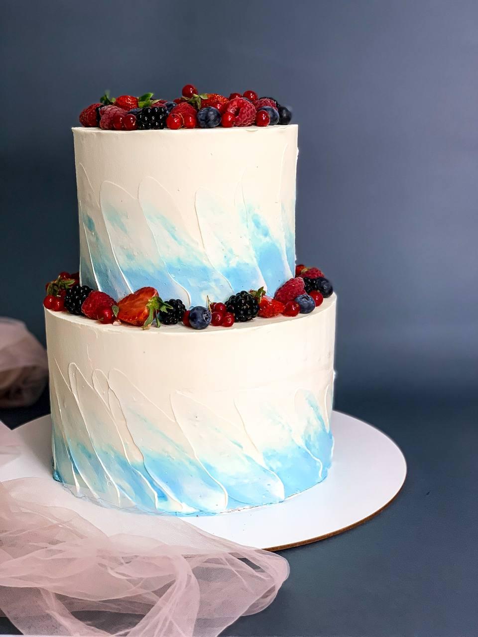 Торт Ягодное Наслаждение 2 - фото
