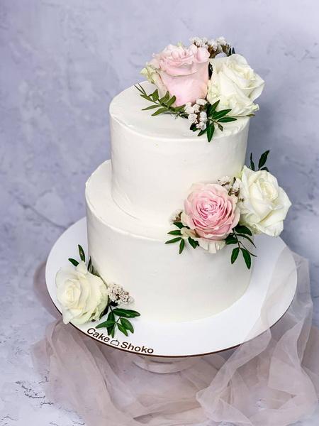 Торт Троянди 3 - фото